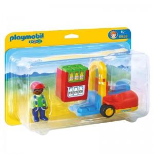 Playmobil 1.2.3 Forklift