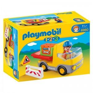 Playmobil 1.2.3 Construction truck