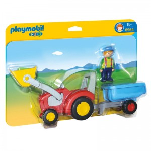 Playmobil 1.2.3 Tractor Trailer