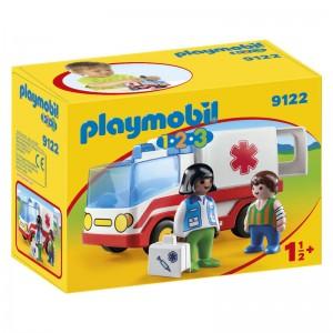 Playmobil 1.2.3 Ambulance