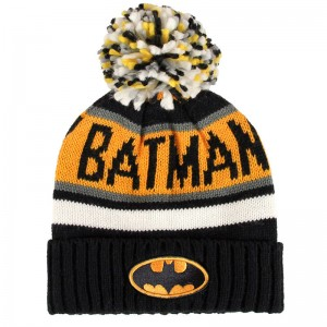 Batman DC Premium Jacquard bobble hat