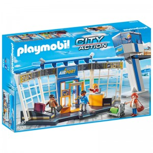 Playmobil City Action Airport and control tower