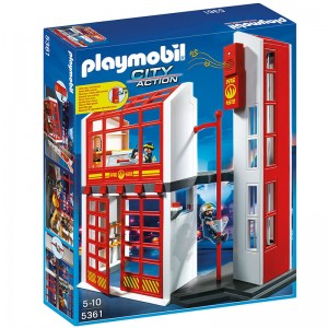 Playmobil City Action Fire Station with Alarm Set