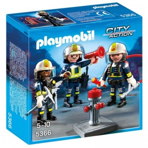Playmobil City Action Firefighters team