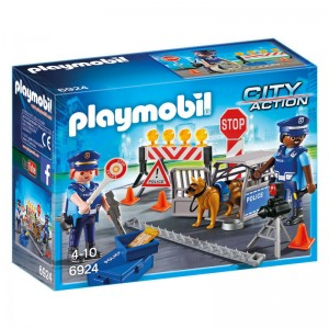 Playmobil City Action Police control