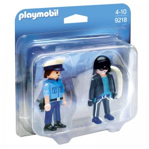 Playmobil City Action Duo Pack Police and Thief