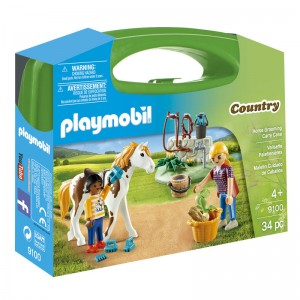 Playmobil Country Horse Care carry case