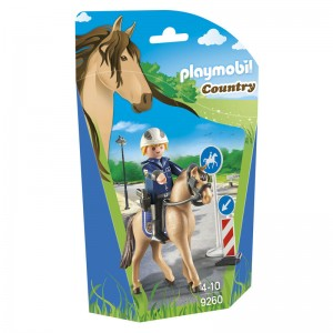 Playmobil Country Police Mounted on a Horse