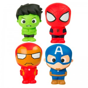 Marvel assorted Squeeze toys