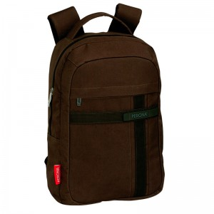 Perona Business Laptop backpack 43cm brown