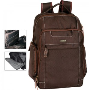 Perona Business New York Laptop backpack 42cm brown