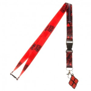 DC Comics Suicide Squad Good Night lanyard