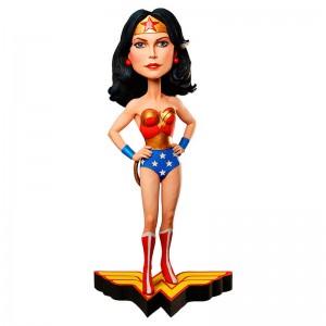 DC Comics Wonder Woman Head Knockers figure 12cm