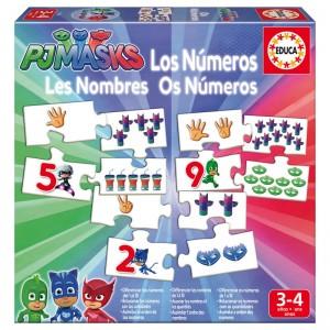 PJ Masks Numbers