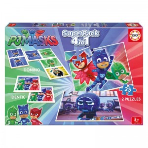 PJ Masks Superpack 4 in 1