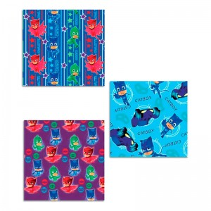PJ Masks assorted gift wrap roll 70x200cm