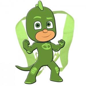 PJ Masks Gekko soft plush toy bacpack