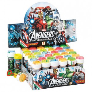 Marvel Avengers assorted bubbles