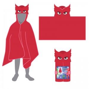 PJ Masks Owlette towel with hood