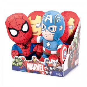 Marvel assorted soft plush toy 30cm