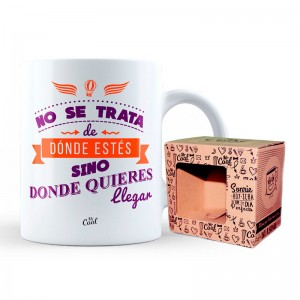 Donde Quieres Llegar mug