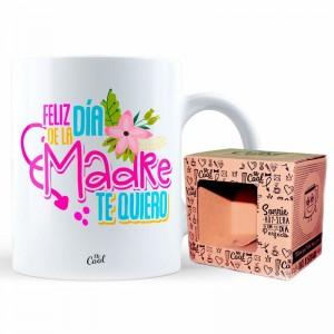 Feliz Dia De La Madre Te Quiero mug