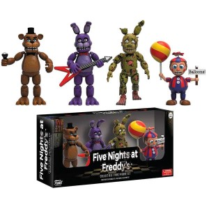 Five Nights at Freddy's pack 4 figure Pack 2