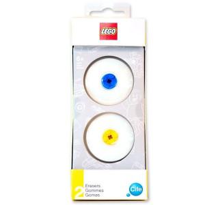 Lego eraser pack of 2 + 2 Lego pieces