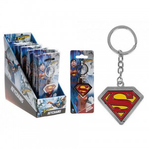 DC Superman metal keychain