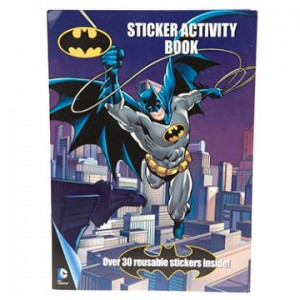 DC Comics Batman sticker activity pack