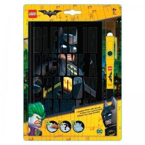 Lego Batman diary + invisible pen