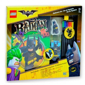 Lego Batman diary + stationery accessories
