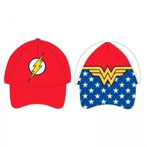 DC Comics Flash Wonder Woman assorted cap