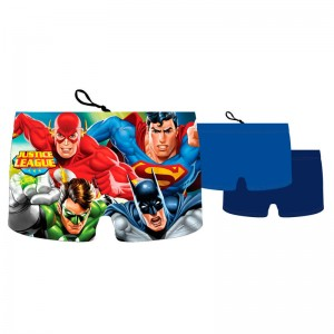 DC Justice League boxer assorted swimwear