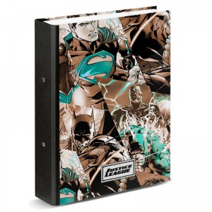 DC Comics Justice League A4 ring binder