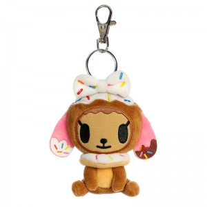 Tokidoki Donutella keychain plush toy 11