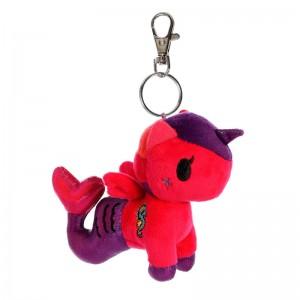 Tokidoki Oceania Mermicorno keychain plush toy 11