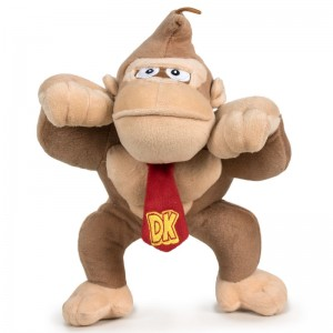 Mario Bros Donkey Kong soft plush toy 30cm