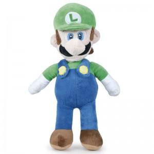 Mario Bros Luigi soft plush toy 35cm