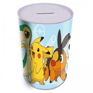 Pokemon Pikachu metalic coin box
