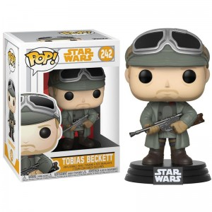 POP figure Star Wars Solo Tobias Beckett with Goggles