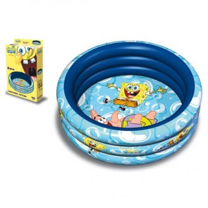 Bob Esponja swimming pool 3 rings