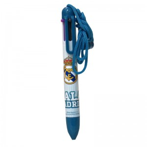 Real Madrid 6 color pen with cord