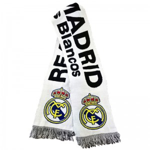 Real Madrid fan scarf