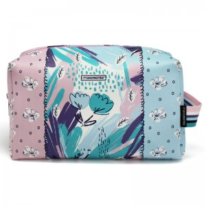 Foliage cosmetic bag