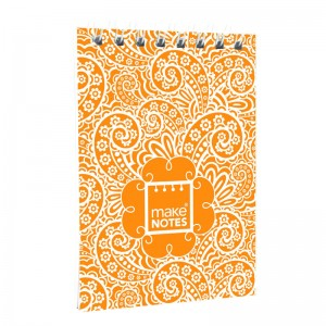 Paisley One A7 orange notebook