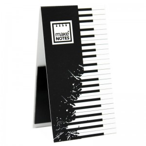 Music magnetic bookmarks