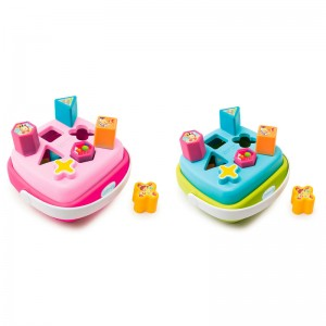 Shapes sorter basket