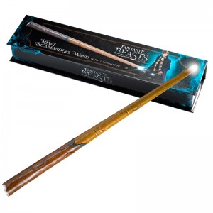 Fantastic Beasts Newt Scamander wand with light