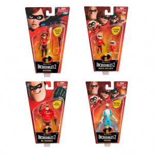 The Incredibles assorted figure 4-10cm